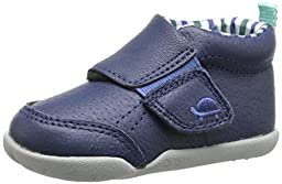 Carter\'s Every Step Bobby P2 Early Walker Shoe (Infant/Toddler), Navy/Plaid, 3 M US Infant