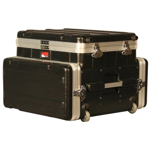 Gator Ata Laptop Or Mixer Case Over 4U Audio Rack (Grc-Studio4Go-W)