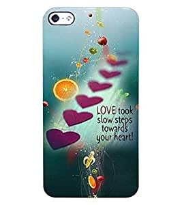 ColourCraft Quote with Image Design Back Case Cover for APPLE IPHONE 4