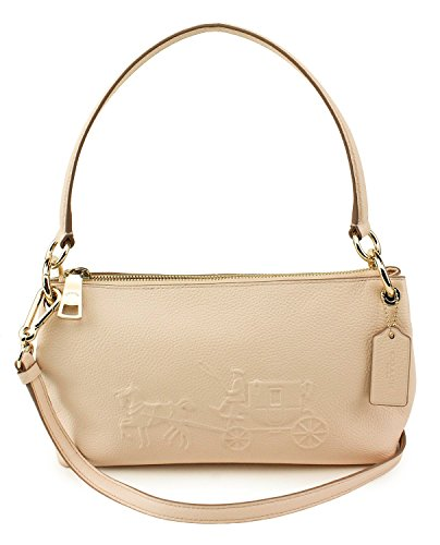 You Save Coach Apricot Embossed Horse &