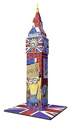 Ravensburger The Minions Movie Big Ben Building 3D Puzzle (216-Piece)