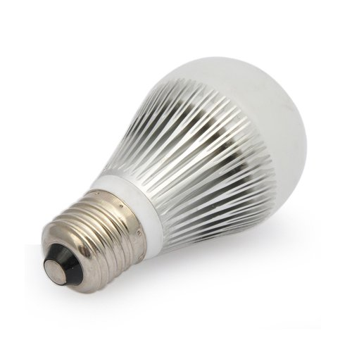 7 Watt Dimmable Led A19 Standard Household Screw Base Replacement For 50 Watt Incandescent Light Bulb White By Ledwholesalers, 1012Wh