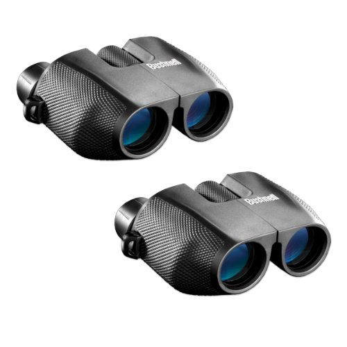 Bushnell 139825 Powerview 8X25 Porro Prism Compact Binoculars 2-Piece
