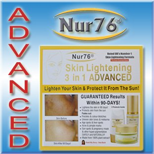 Nur76® Advanced 3 in 1 Skin Lightening for Face