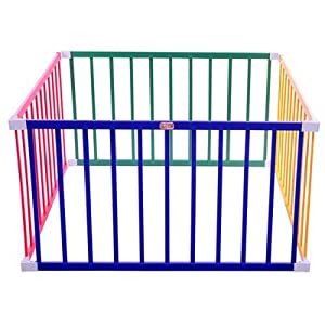 Boss Playpen 119 x 119 x 65cm Square Coloured       review and more information