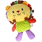Magicdeal Colorful Cartoon Animal Stuffed Doll Soft Plush Toy For Baby Infant - B06XR9THS5