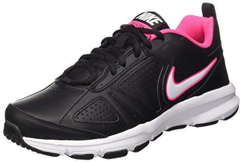 Nike T-Lite XI, Scarpe Sportive Indoor Donna, Nero (Black/White/Hyper Pink/Hyper Pink), 36.5 EU