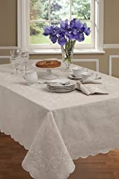 Lenox French Perle Tablecloth 52x70 by Lenox
