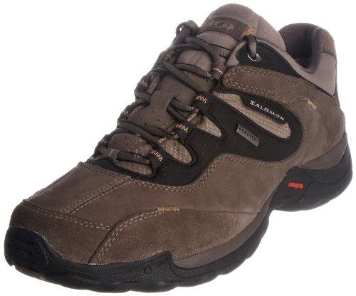 Salomon Men's Elios 2 Gtx Swamp/Thyme/Wood Beige Walking Shoe 104618 12 UK