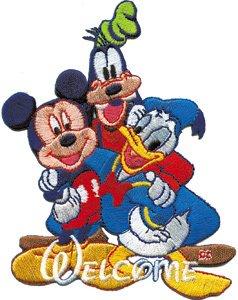 Amazon.com: Disney Movie Character Mickey Mouse Goofy & Donald Duck