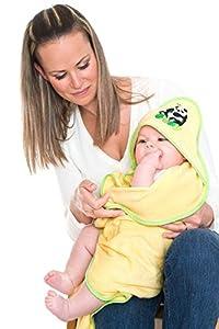 Bamboo Hooded Towel & Washmitt marca Ecoboo