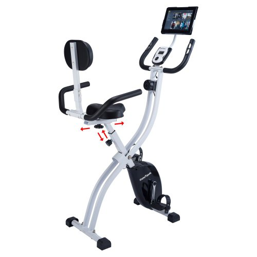 Innova Health and Fitness Dual Function Folding Upright/Recumbent Exercise Bike
