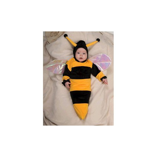 Lil Bumble Bee Costume - Newborn front-1027643