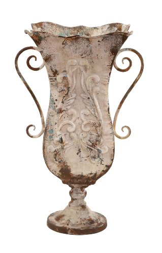 Deco 79 Metal Vase, 13 by 21-Inch