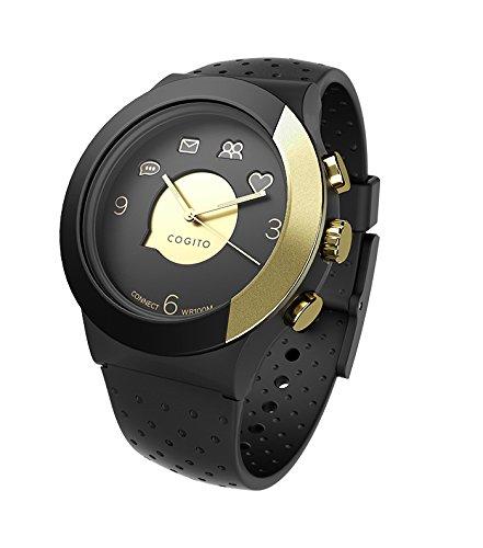 Cogito cW3. 1-001-01 smartwatch blackgold/siliconblack