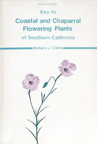 Key to Coastal and Chaparral Flowering Plants of Southern California PDF