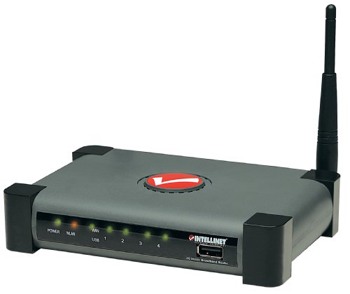 Intellinet Wireless Up To 150 Mbps Network Link Speed 3G Router (524940)