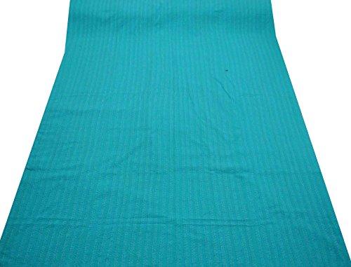 multicolor colcha floral algodón puro gudri cama nueva puntada kantha extendió india 108x88