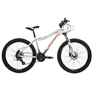 Diamondback Ridge Women's Mountain Bike - White, 26 Inch