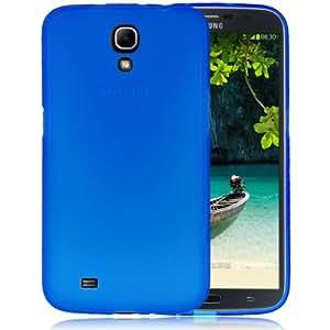 Crazy4Gadget Pure Color TPU Protection Case for Samsung Galaxy Mega 6.3 / i9200(Blue)