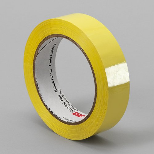Tapecase 1318-1Y 0.75In X 72Yd Yellow Electrical Tape (1 Roll)