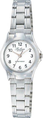 [シチズン キューアンドキュー]CITIZEN Q&Q 腕時計 Falcon (フォルコン) アナログ表示 ホワイト VU77-850 レディース