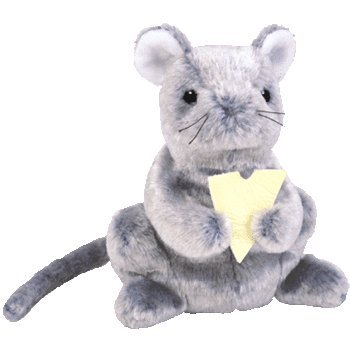 TY Beanie Baby - CHEDDAR the Mouse
