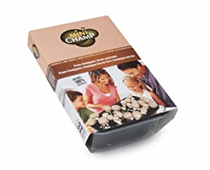 kit culture champignons bruns de paris minichamp 3 litres. Black Bedroom Furniture Sets. Home Design Ideas