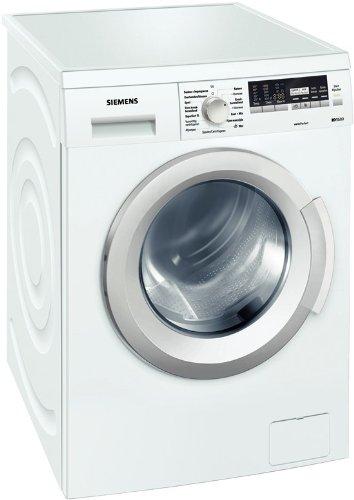 Siemens iQ500 WM14Q441 Waschmaschine Frontlader / A+++ / 174 kWh/Jahr / 1400 UpM / 7 kg / 8140 liter/Jahr / Hemden/Business Programm / Outdoor Programm / weiß