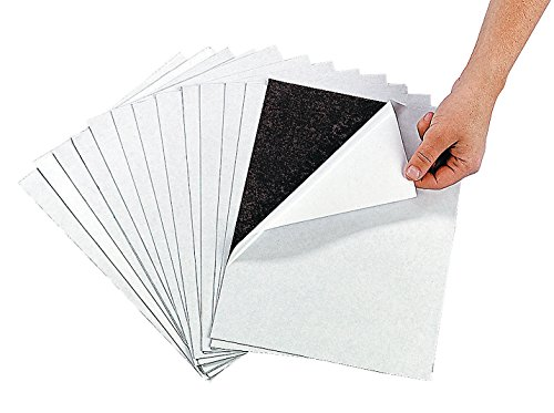 Awesome Adhesive Magnetic Sheets (12 Pack) Peel &