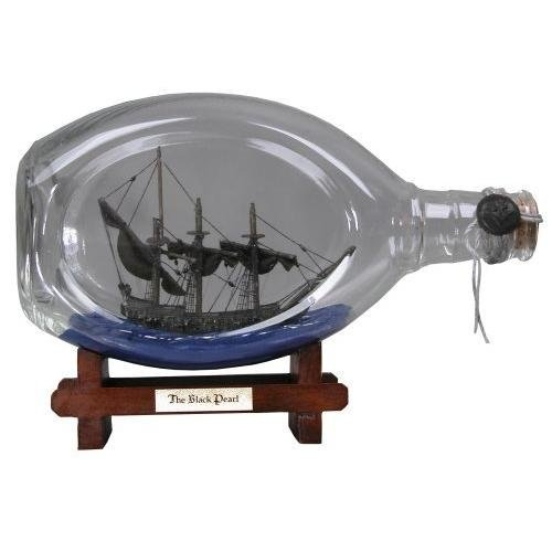 Pirates of the Caribbean Black Pearl Ship in a Bottle (NECA) [輸入品] [おもちゃ&ホビー]
