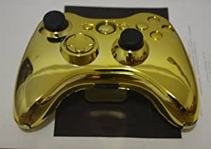 Amazon.com: Gold Chrome XBOX 360 Controller Shell Kit ...