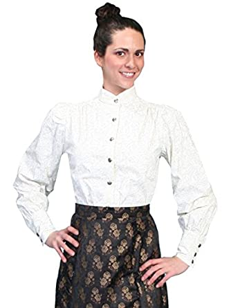 Wahmaker By Scully Womens Old West Blouse  AT vintagedancer.com