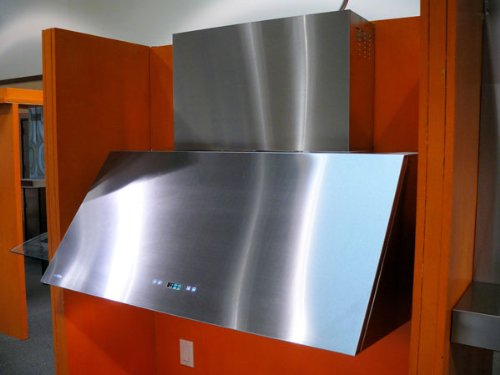 "60"" Pro Baffle Filter Wall Mount Stainless Steel Range Hood Indoor Or Out Door Bbq front-150347"