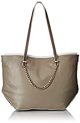 Halston Heritage Tote Handbag, Fatigue/Multi, One Size