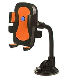 LipiWorld Hot Selling Car Mobile Holder/Stand Mount Bracket Holder Stand-Orange