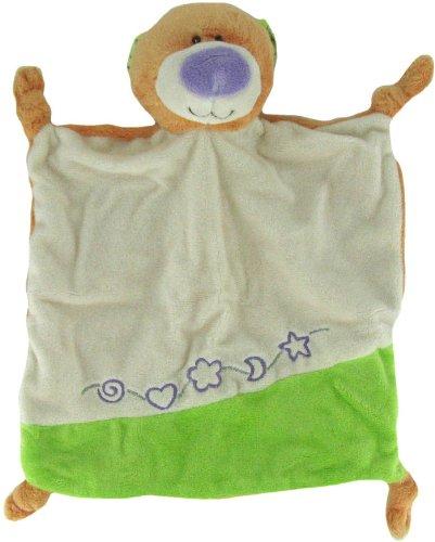 9 Inch Rattle Plush Tangerine Teddy Bear Mini