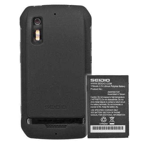 Seidio Bacy35Mtpht-Bk Innocell 3500Mah Extended Life Battery For Motorola Photon 4G - Retail Packaging - Black