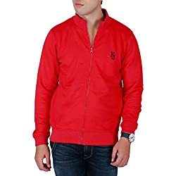 KILLER Men's Cotton Red Sweatshirt_XXL
