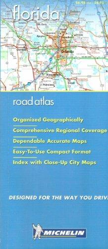 Michelin Florida Regional Road Atlas PDF