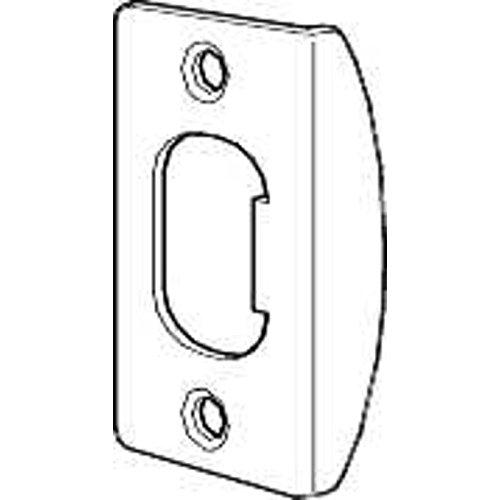 Kwikset Lockset Door Strike Plate In Polished Brass front-775311