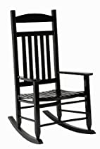 Hot Sale Jack Post KN-28B Knollwood Mission Style Rocker, Black