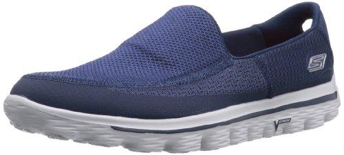 Skechers  GO Walk 2,  Sneaker uomo, (Blau (NVGY)), 44