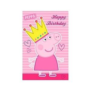 """Peppa Pig: """"Feliz cumpleaños"""" Tarjetas de felicitación"""