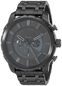 diesel homme 51mm chronographe noir acier bracelet boitier date montre dz4349 montres. Black Bedroom Furniture Sets. Home Design Ideas
