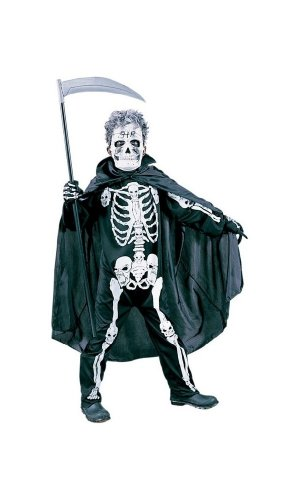 Scary Skelton Costume - Kids Halloween Costume