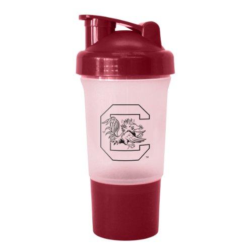 Ncaa South Carolina Fighting Gamecocks 16-Ounce Protein Shake Bottle