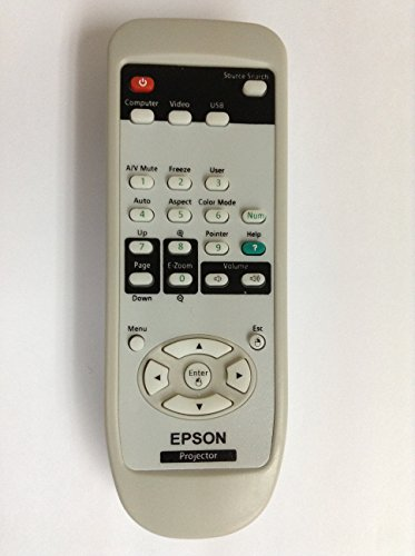 REMOTE CONTROL FOR EPSON PROJECTOR EB-1850W EB-D6155W H451A PowerLite 935W V11H395020