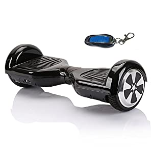 EaseeTop Smart Self Balancing Electric Scooter Balance 2 Wheels Black with Remote Control