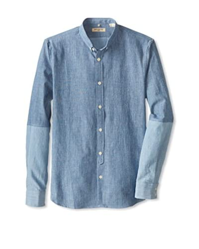 Levi's Made & Crafted Men's Contrast Sleeves Button Down Shirt